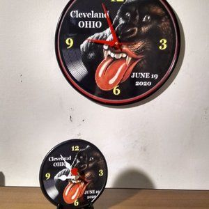 ROLLING STONES TWO CLOCK PACKAGE!!!